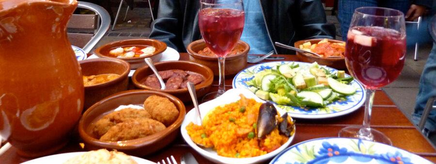 Eurotour trip  Espanjalainen keittiö