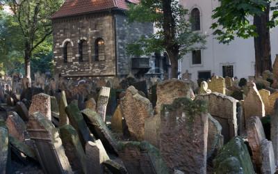 Old Jewish Cemetery Josefov Prague
