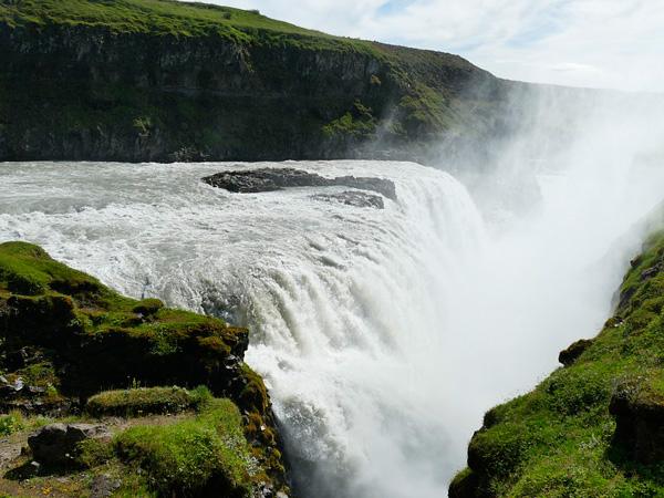 Gullfoss-Waterfall