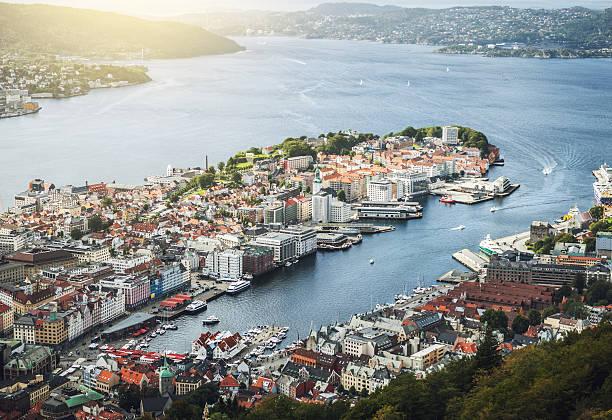 The harbor of Bergen.