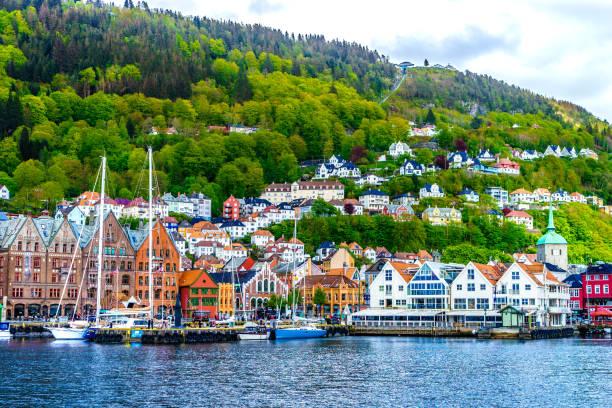 Bergen - Norway, Bryggen, Europe, Nordic Countries, Norway