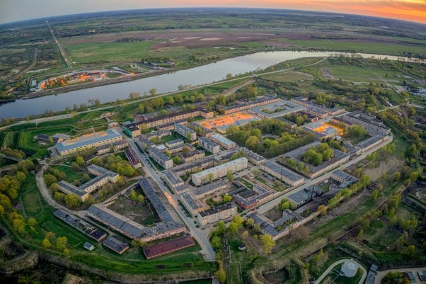 Daugavpils Fortress, also known as Dinaburg Fortress, is an early 19th century fortress in Daugavpils, Latvia