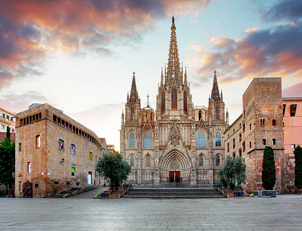 Barcelona Cathedral. Spain.
