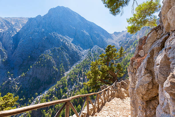 The Samaria Gorge (Greek: A|AiAAAA A#AAAiAAa or just A|AiAAAAa) is a National Park of Greece on the island of Crete - a major tourist attraction of the island - and a World's Biosphere Reserve.