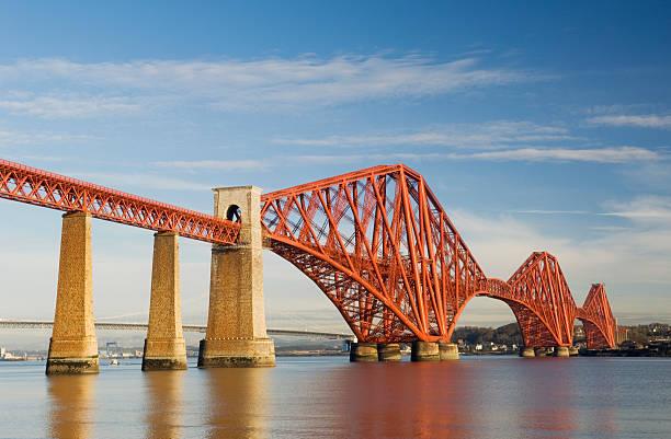 """""""The Forth Rail Bridge which spans the Firth of Forth near Edinburgh, Scotland."""""""