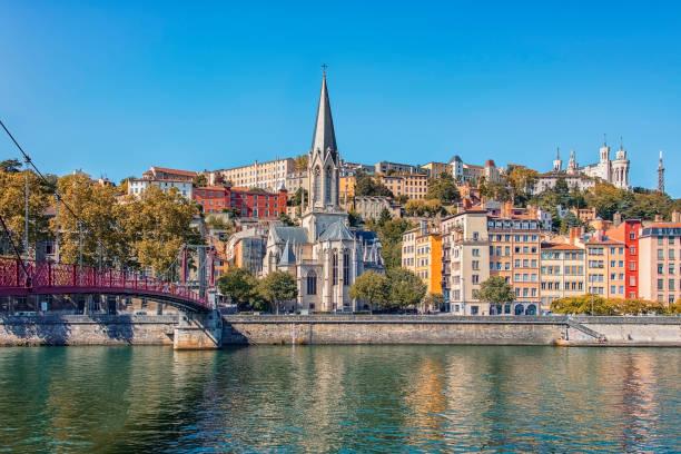 City of Lyon in daytime