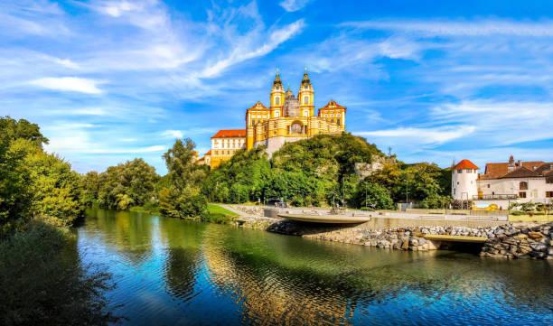 Melk Abbey, Austria, Stift Melk, Famous, Summer